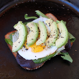 Fried Egg and Avocado Sandwich