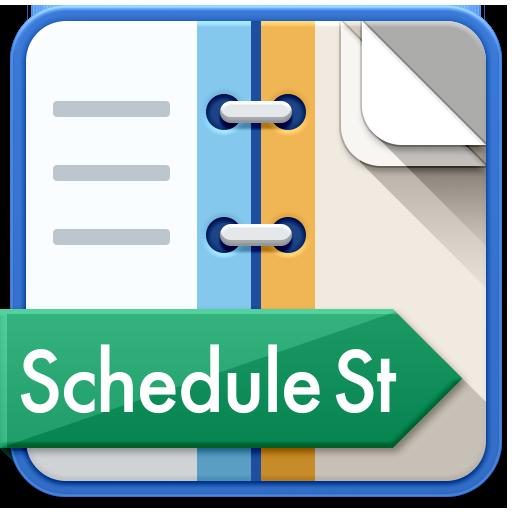Schedule St.(免費的時間表書/日曆) 生產應用 LOGO-玩APPs
