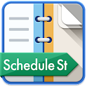 Schedule St.(Free Day Planner) icon