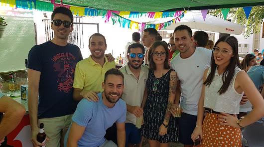 Abruceneros y visitantes disfrutan con las Fiestas de Verano