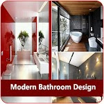 Modern Bathroom Design Icon