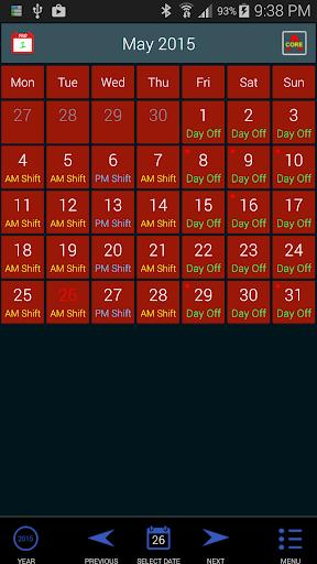 Work Roster 1.011 screenshots 12