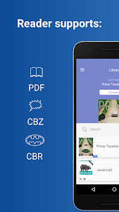 Comics Reader: CBR, CBZ, PDF screenshot 0