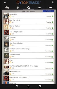 TopTrack - Promote your music- screenshot thumbnail