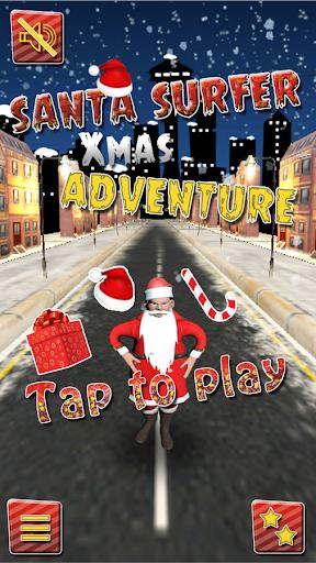 聖誕老人衝浪女孩冒險