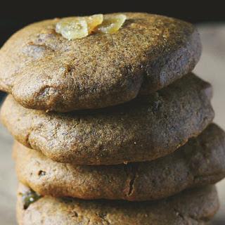 Triple Ginger Tahini Cookies [Vegan, Gluten-Free]
