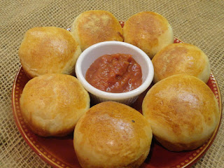 Sausage Bread Rounds Recipe