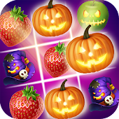 Halloween Fruits Splash