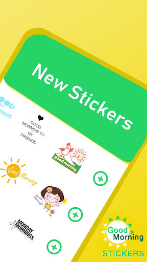 Good Morning stickers for whatsapp - WAStickerapps 1.0.2 screenshots 2