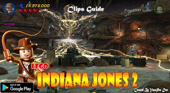 Clips Guide Lego Indiana Jones 2 - Apps on Google Play