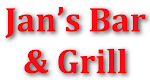 Logo for Jan's Bar and Grill