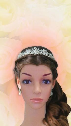 婚礼发型照片蒙太奇