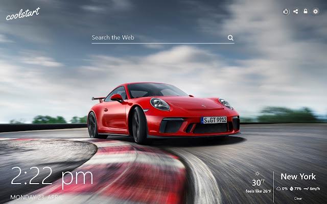Porsche HD Wallpapers Super Cars Theme