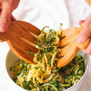 Asian Spiralized Cucumber Salad