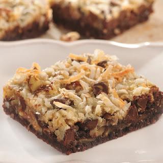 Chocolate Macaroon Squares