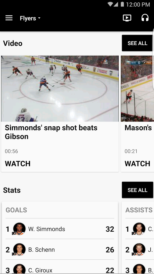 Philadelphia Flyers- screenshot