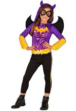Batgirl super hero dräkt