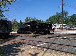 Photo: at Railtown 1897 State Historic Park in Jamestown, CA