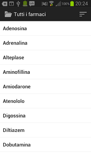 Farmaci D\ screenshot for Android