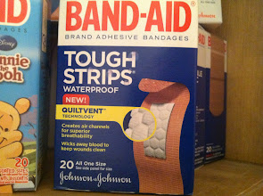 Photo: Quiltvent helps Band-Aid not stick to boo-boos!