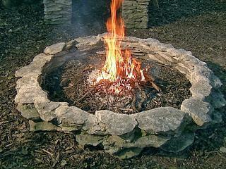 Resultado de imagen de fogueira de pedras