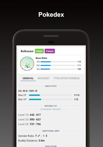 Screenshot for Poke Genie - Safe IV Calculator in Hong Kong Play Store