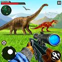 Deadly Dinosaur Hunter Safari Animal hunting Games icon