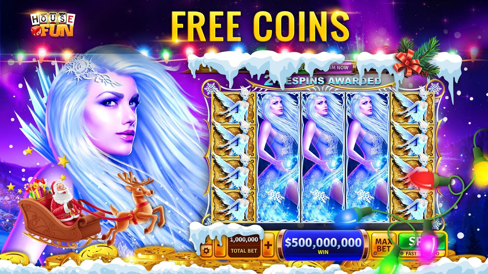 Free Slots Casino - Play House of Fun Slots- screenshot