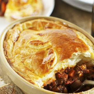 Beef and Ale Pastry Pie