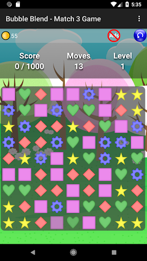 Bubble Blend - Match 3 Game modavailable screenshots 1