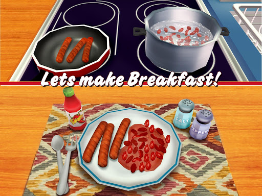 Virtual Chef Breakfast Maker 3D: Food Cooking Game 1.1 screenshots 6