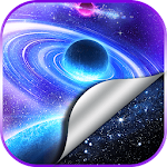 Galaxy Space Live Wallpapers icon