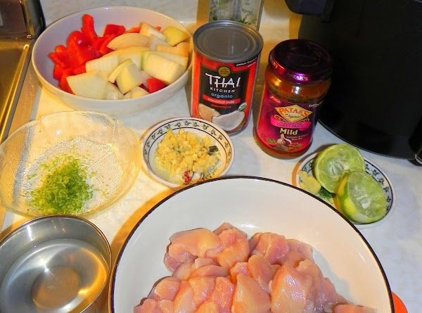 Grate zest of the lime and juice the lime as well. Set aside. Chop...