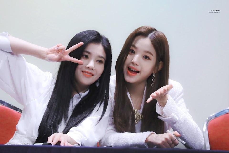 eunbi wonyoung