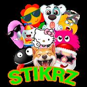 STIKRZ - Unique Emoticons Stickers for WhatsApp