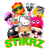 STIKRZ - Unique Emoticons Stickers for WhatsApp