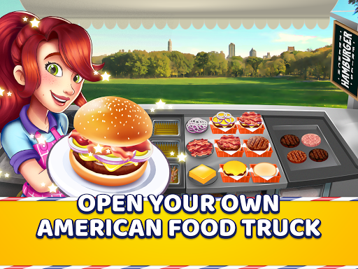 American Food Truck - Fast Food Cooking Game for PC