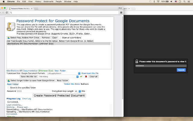 Password Protect for Google Documents - G Suite Marketplace