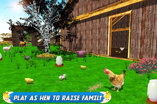 New Hen Family Simulator: Chicken Farming Games apkpoly screenshots 1