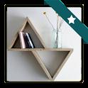 DIY Bookshelf Design icon