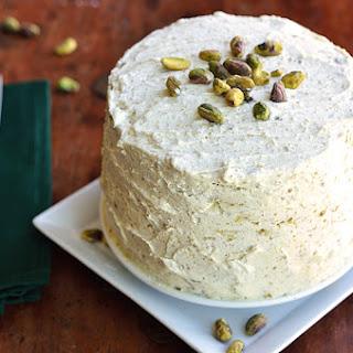 Maple Pistachio Layer Cake