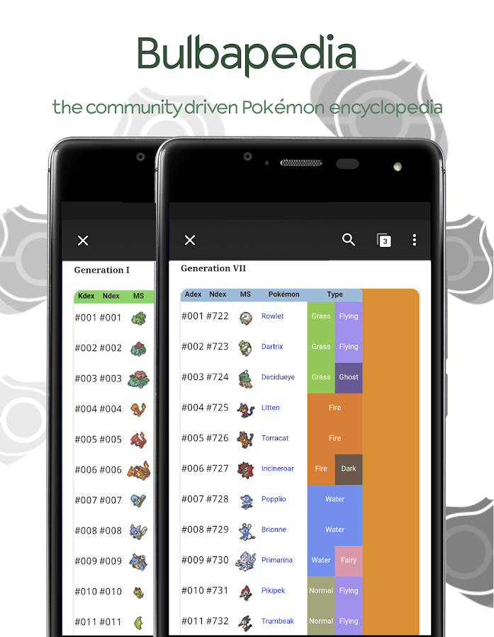Bulbapedia - Pokémon Wiki- screenshot