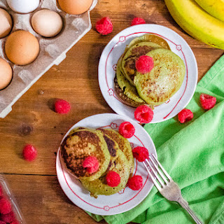 Flourless Green Blender Pancakes Recipe