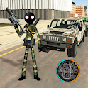 US Army Stickman Rope Hero counter War Gangstar 2 icon