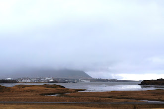 Photo: This day we headed northwest to the fjords. Weather was heavy overcast with intermittent light rain.