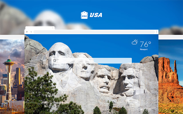 USA HD Wallpapers New Tab Theme