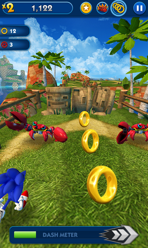Screenshot 2 Sonic Dash 4.0.3 APK MOD