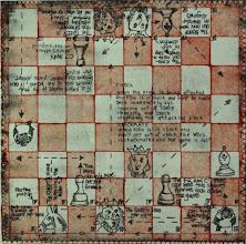 """Photo: Check Checkmate, 11 x 11"""", intaglio"""
