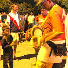 Photo: Year 2 Day 109 -  Little Boy Playing the Cymbals