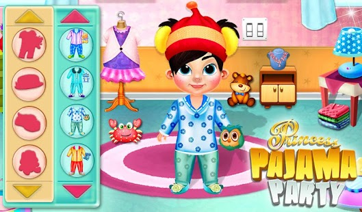 Princess Doll Pajama Party- screenshot thumbnail